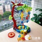 親子玩具-猴子蕩秋千親子互動游戲教具益智玩具早教啟蒙兒童聚會桌游3-6歲-奇幻樂園