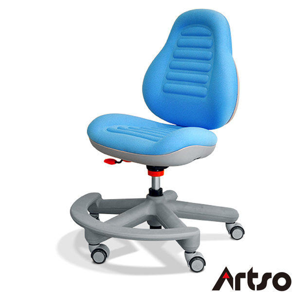 【Artso亞梭】豌豆椅-PU腳(無扶手)-一體成型高密度泡棉兒童成長椅預防駝背與脊椎側彎的健康傢俱
