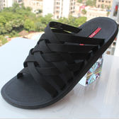 休閒拖鞋居家涼拖鞋一字拖越南拖鞋男個性韓版潮流涼鞋沙灘鞋夏季  卡布奇诺