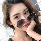 網紅墨鏡女韓版潮防紫外線2019新款ins眼鏡大框圓臉偏光太陽鏡女