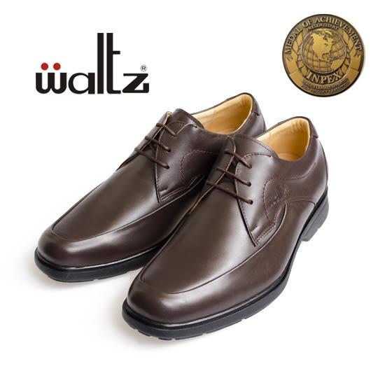 waltz-新一代金牌獎專利輕呼吸氣墊鞋32016-03(咖)