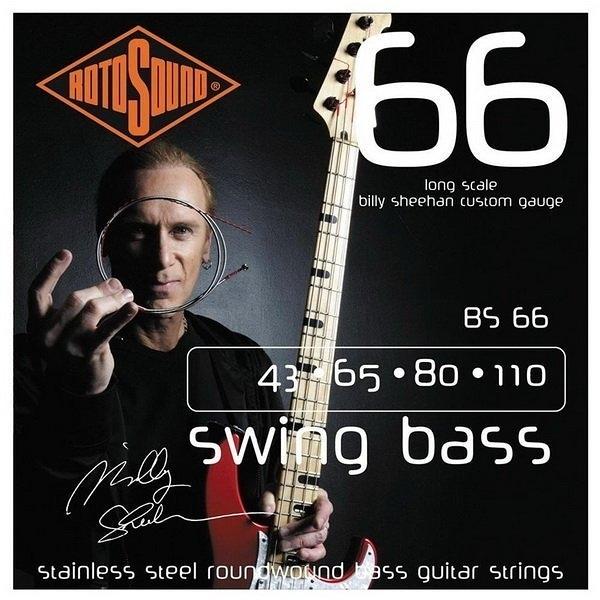 ☆ 唐尼樂器︵☆ 英國 ROTO SOUND Billy Sheehan 貝士套弦 BS66 (43-110)