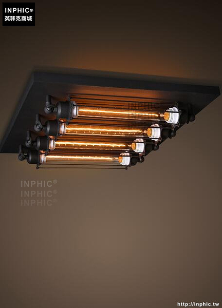 INPHIC- 風格工業復古吸頂燈 個性創意咖啡店酒吧頂燈_S197C