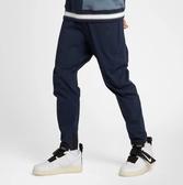 NIKE Sportswear 深藍 黑logo 拉鍊口袋 梭織 長褲 工作褲 男 (布魯克林) 2019/3月 927992-451