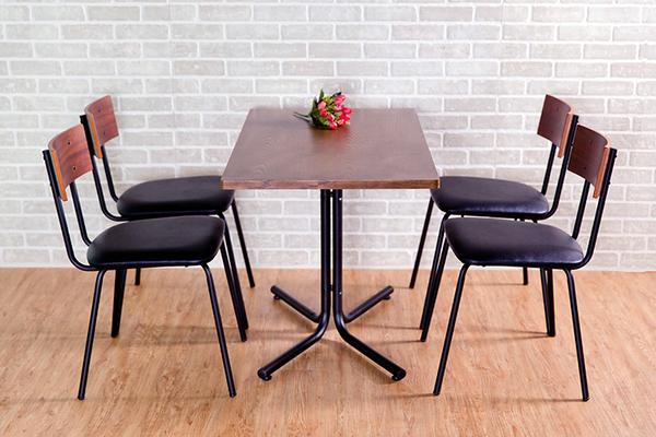 餐桌/工作桌/茶几桌/OAK木色 日式長形餐桌 Dining Table 復古工業風 MIT台灣製【51552】Tasteful 特斯屋