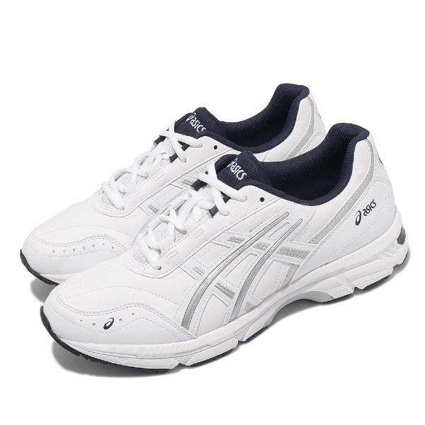Asics 休閒鞋 GEL-Escalate 白 銀 深藍 亞瑟士 復古 慢跑鞋 男鞋 女鞋 【ACS】 1201A039100