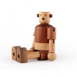 『121婦嬰用品館』Soopsori 全腦開發.原粹木積木-初階認知系列 機器人