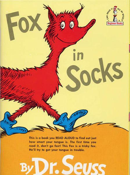 『說口好英文--第9週』- FOX IN SOCKS /蘇斯博士英文繪本附CD《發音.幽默》