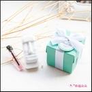 Tiffany盒裝 摩艾擴香石+附精油 婚禮小物 生日禮物 畢業禮物 情人節禮物 姊妹禮 探房禮