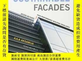 二手書博民逛書店Sustainable罕見Facades: Design Methods For High-performance