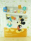 【震撼精品百貨】Micky Mouse_米奇/米妮 ~L行文件夾-Fun Time18921