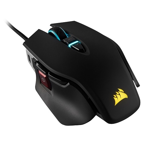 M65 RGB ELITE 電競滑鼠/黑色/有線/18000 DPI/RGB/2年保固