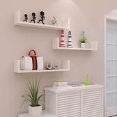 壁櫃 免打孔新品書架墻上壁柜置物架壁掛隔板臥室墻面客廳墻體裝飾