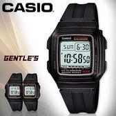 CASIO手錶專賣店 卡西歐 F-201WA-1A 電子錶 男錶 生活防水 鬧鐘 碼錶 塑膠錶帶