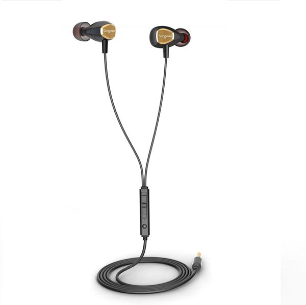 【出清特殺】Starking 3.5mm鍍金插針耳機 (顏色隨機出)