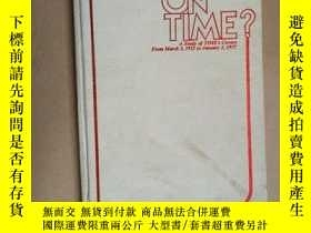 二手書博民逛書店Who s罕見On Time? A Study of TIME