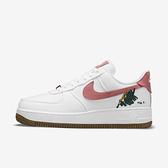 Nike Wmns Air Force 1 07 Se [CZ0269-101] 女鞋 運動 休閒 植物刺繡 白 玫瑰粉