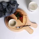 春季上新 圓形蛋糕面包西餐牛排木板烘焙餐具定制