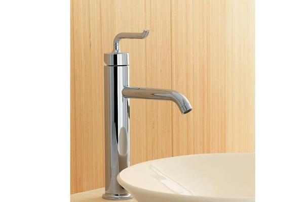 【麗室衛浴】美國 KOHLER Purist® 系列  加高面盆龍頭  K-14404-4A-CP