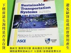 二手書博民逛書店罕見Sustainable Transportation Svs