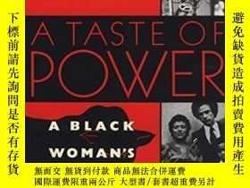 二手書博民逛書店A罕見Taste Of PowerY256260 Elaine Brown Anchor 出版1993