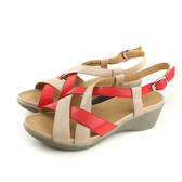 Kimo 涼鞋 跟鞋 女鞋 橘/米白 K18SF136027 no794