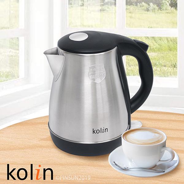 【艾來家電】【分期0利率+免運】Kolin 歌林 1.8L 不鏽鋼快煮壺 KPK-DL1802S