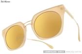 PAUL HUEMAN 太陽眼鏡 PHS1096A 15 (裸色-黃水銀) 水銀鏡面貓眼款 # 金橘眼鏡