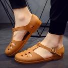 越南橡膠軍人涼鞋男鞋夏季防滑防臭不磨腳懷舊解放鞋老款1958軍鞋