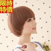 短款假髮-俏皮可愛磨菇頭復古潮流整頂女美髮用品2色68x25[巴黎精品]