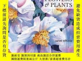 二手書博民逛書店Painting罕見Flowers And PlantsY364682 Janet Whittle Searc