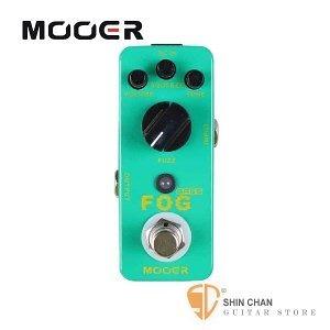【缺貨】Mooer Fog 經典貝斯法茲效果器【Bass Fuzz Pedal】【Micro系列FO】