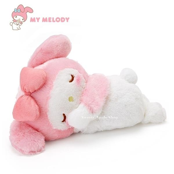 日本限定 美樂蒂  睡眠趴姿 絨毛玩偶 暖暖袋