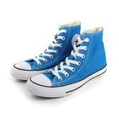 CONVERSE Chuck Taylor All Star  帆布鞋 休閒 高筒 星星 純色 藍色綠 男女鞋 149511C no211