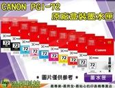 CANON PGI-72 十色一組 原廠盒裝 PRO-10 IAMC15