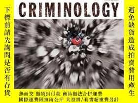 二手書博民逛書店Criminology罕見(justice Series) (3rd Edition)-犯罪學(司法系列)(第三版