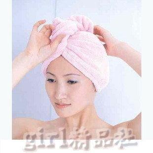 【七倍乾髮帽】韓國摩克麗神奇超強吸水比普通毛巾快7倍 浴帽