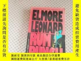 二手書博民逛書店Rum罕見Punch【神奇之力 危險關係,埃爾莫·倫納德,英文原