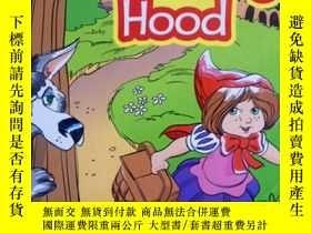 二手書博民逛書店英文原版罕見少兒繪本故事 Little Red Riding H