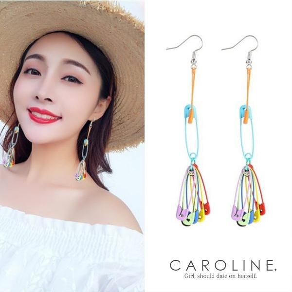 《Caroline》★韓國熱賣造型時尚 俏皮大方設計感 耳環70581