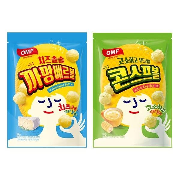 歐邁福 起司球 康門貝爾起司口味/玉米球 玉米濃湯口味(70g) 款式可選【小三美日】