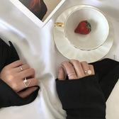 戒指【4個裝】金屬組女日系潮人簡約【聚寶屋】