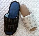 (e鞋院)【日系格紋】舒適室內拖鞋
