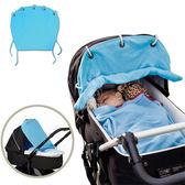 嬰兒推車防曬窗簾 可捲起防曬罩 棉質遮陽布 SS0664 好娃娃