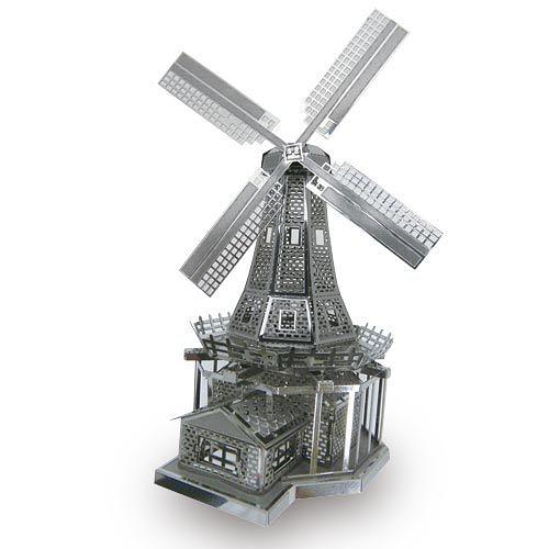 METALLIC NANO PUZZLE 金屬微型模型拼圖 22 荷蘭風車_ NO21922