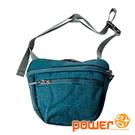 休閒腰包『藍綠』P20812 露營.戶外.旅遊.自助旅行.多隔間.腰包.休閒包.側背包