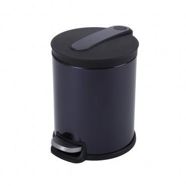 HOLA 阿道夫緩降踏式垃圾桶5L 紫
