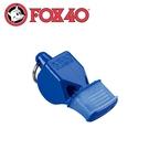 【Fox 40 軟膠口哨子Fox 40 classic《藍色》】9603-0508/高音哨/求生哨/訓練哨