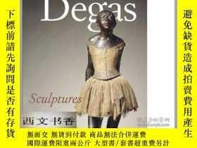 二手書博民逛書店2002年罕見Degas Sculptures: Catalog