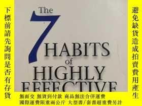 二手書博民逛書店32開英文原版罕見The 7 Habits of Highly